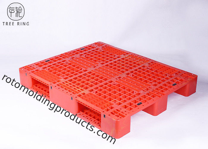 Medium Duty Molded Plastic Pallets With Steel Bar Racking Load 1200 * 1000 * 170 mm