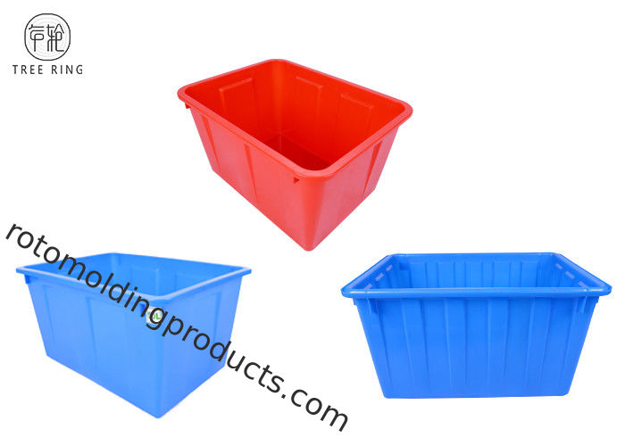 Growing Tote Plastic Bin Boxes , W160 Garden  Rectangular Plastic Storage Containers
