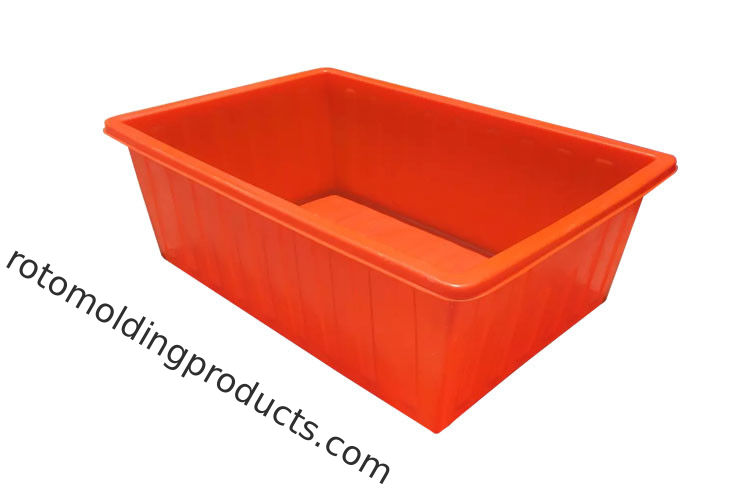 1100L Heavy Duty Polyethylene Plastic Bulk Laundry Utility Carts Perfect For Textile Materials Moving